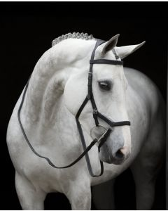 Reins for Rambo Micklem Competition - Black