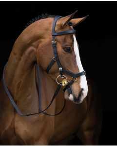 Reins for Rambo Micklem Mutlibridle - Black