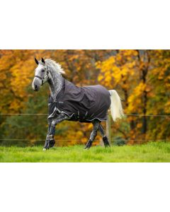 Horseware Amigo Bravo 12 wug lite Excalibur with Plum, White and Silver