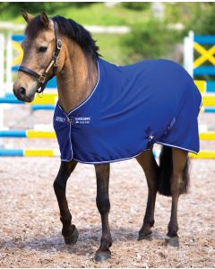 Amigo Jersey Cooler Pony - Atlantic Blue